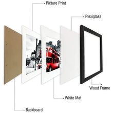 Load image into Gallery viewer, Minimalist Wooden Photo/Poster Frame, Home & Garden - MySiliconDreams