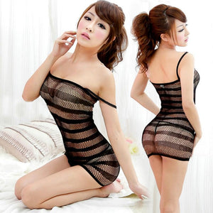 New Sexy Lingerie Fishnet Swimsuit Toys Bodysuit Body Stocking Dress Nightwear Underwear Sandy Beach,  - MySiliconDreams