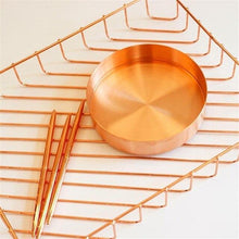 Load image into Gallery viewer, Nordic Copper Storage Tray, Homewear - MySiliconDreams