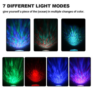 Ocean Wave Lights - White, Ocean Wave Lights - MySiliconDreams