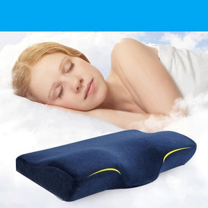 Orthopaedic Memory Foam Neck Pillow, Home Products - MySiliconDreams