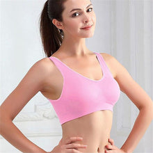 Load image into Gallery viewer, Padded Seamless Sports Bra, gym - MySiliconDreams