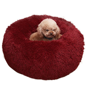Comfortable Plush Pet Bed for Large and Small