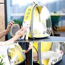 "Load image into Gallery viewer, Pet ""Space Capsule"" Travel Backpack, Pets - MySiliconDreams"
