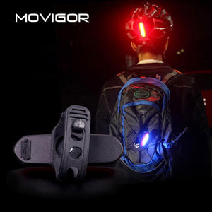 Rechargeable Bicycle Rear LED Light, Light - MySiliconDreams
