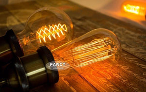 Retro lamp st64 vintage edison bulb e27 incandescent bulb 110v 220v holiday lights 40w 60w filament lamp lampada for home decor, House - MySiliconDreams