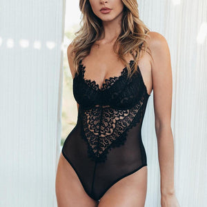 Sexy Lace Lingerie Underwire Bodysuit Corset, Lingerie - MySiliconDreams