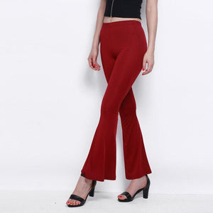 Slim Flare Pants, pants - MySiliconDreams