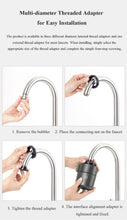 Load image into Gallery viewer, Smart Water Filter Faucet Mount, Water Filter - MySiliconDreams