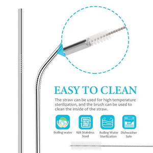 Stainless Steel Reusable Straw, Home Products - MySiliconDreams