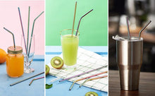 Load image into Gallery viewer, Stainless Steel Reusable Straw, Home Products - MySiliconDreams