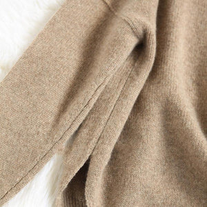 Thick & Loose Turtleneck Cashmere Sweater, Women's Fashion - MySiliconDreams