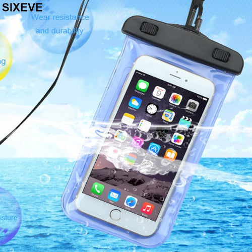Universal Waterproof Cell Phone Case, smartphone case - MySiliconDreams