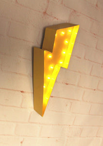 Vintage Style Metal Marquee Night Light, Lamp - MySiliconDreams