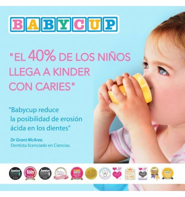BABYCUP MINI VASITO ABIERTO MULTICOLOR