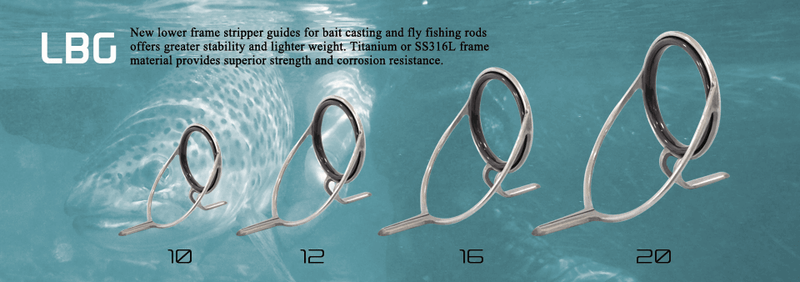 Seaguide fishing rod guide LBG