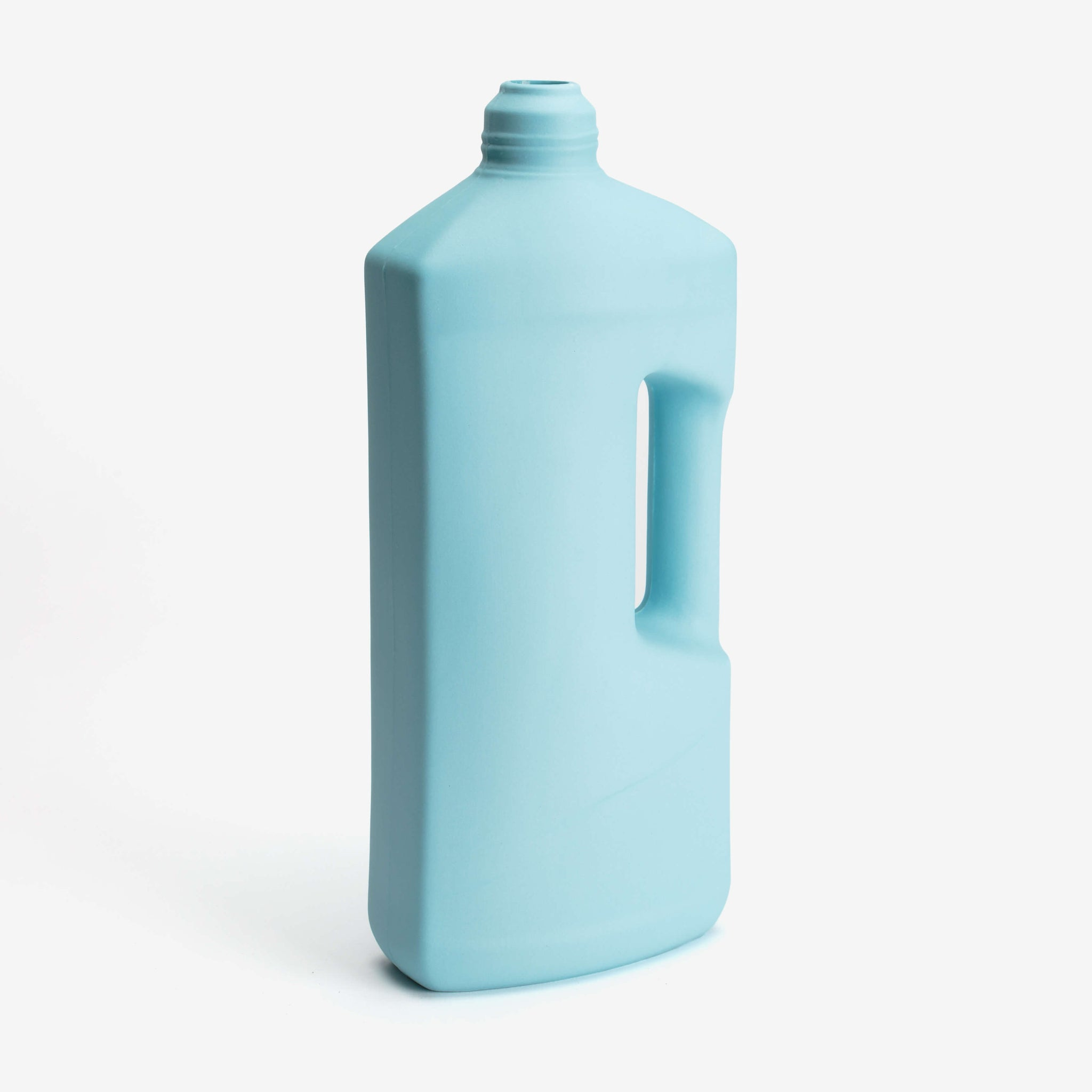 Bottle Vase #3 in Light Blue