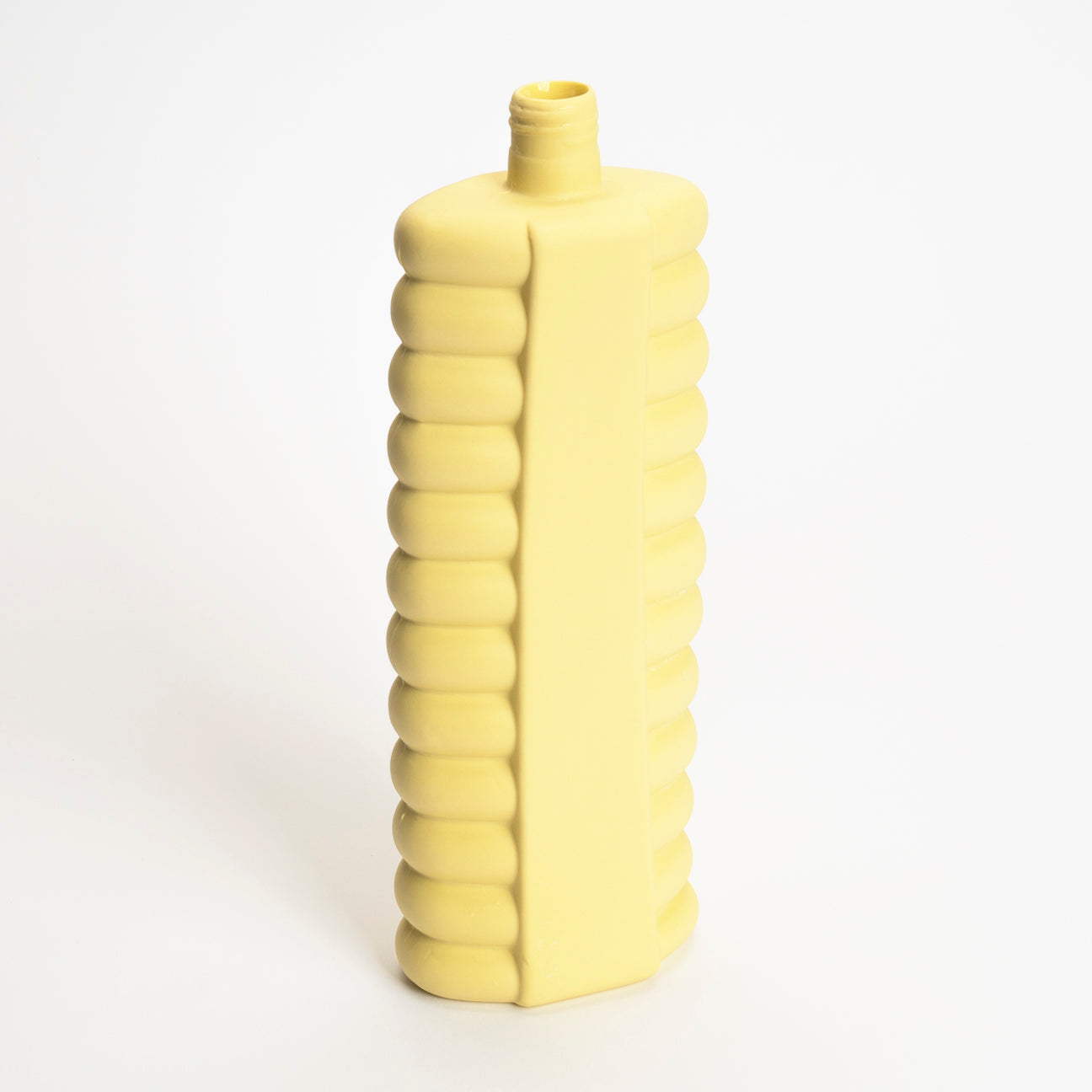 Bottle Vase #10 in Fresh Yellow