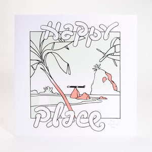 Happy Place – Print