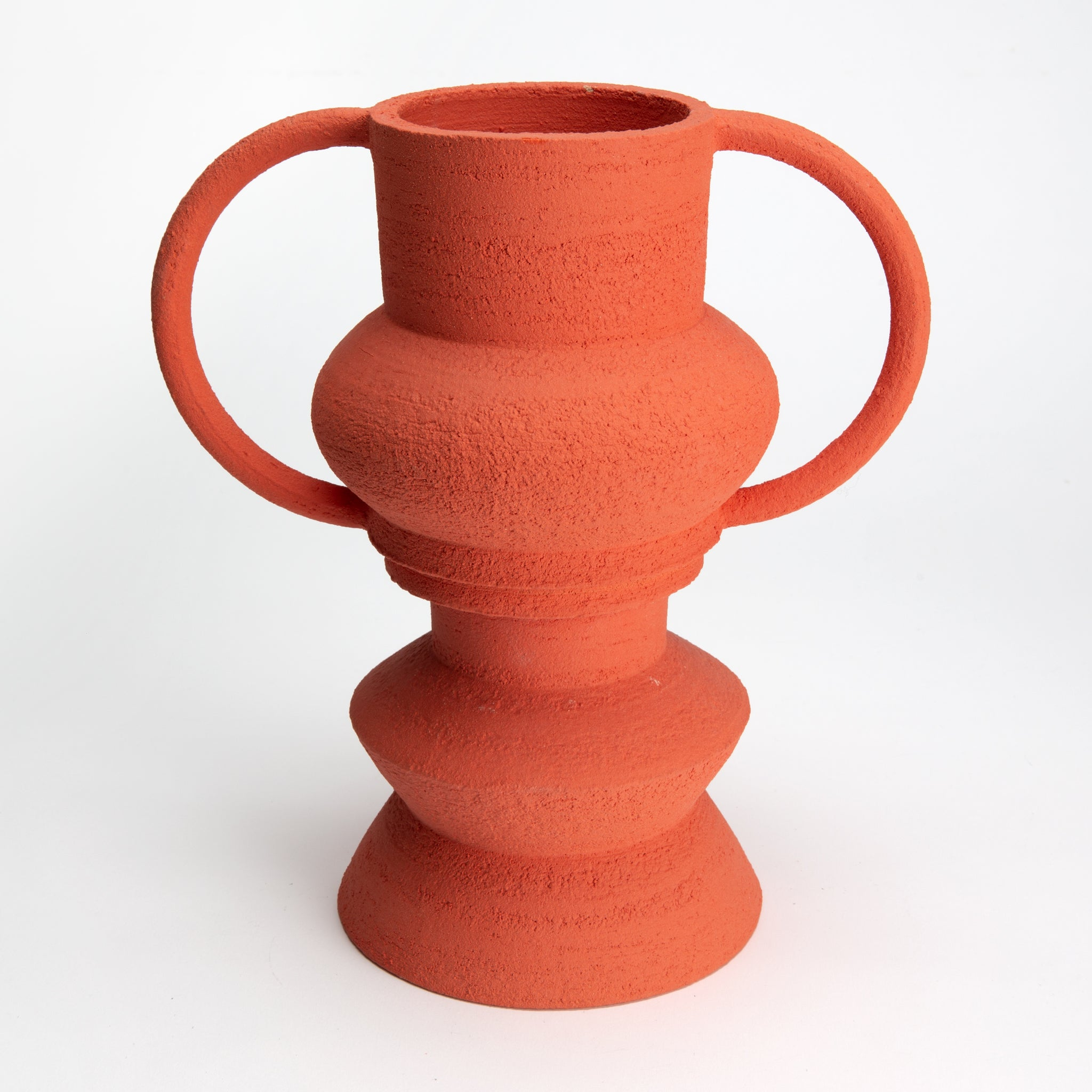 Two-Part Plant Pot in Red