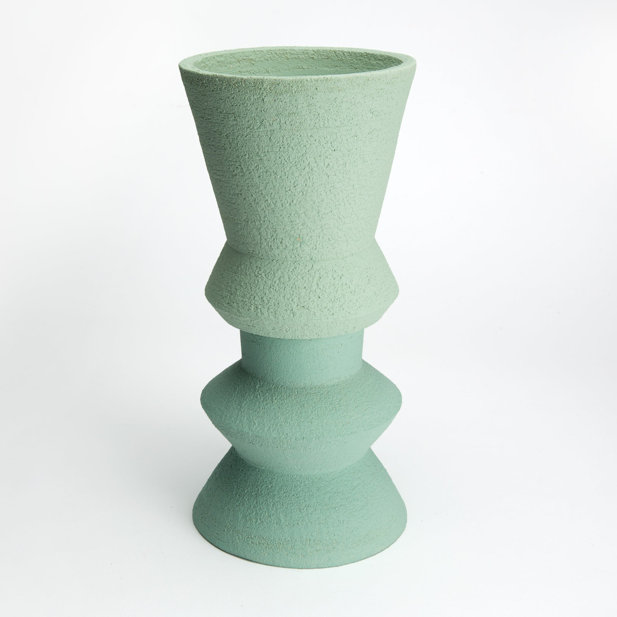 Two-Part Plant Pot in Mint