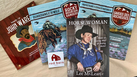 Four books published by Red Barn Books