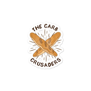 Carb Crusaders Sticker