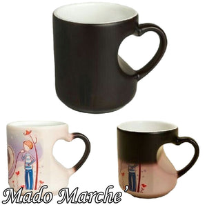 Custom Magic Mug - Heart Hand
