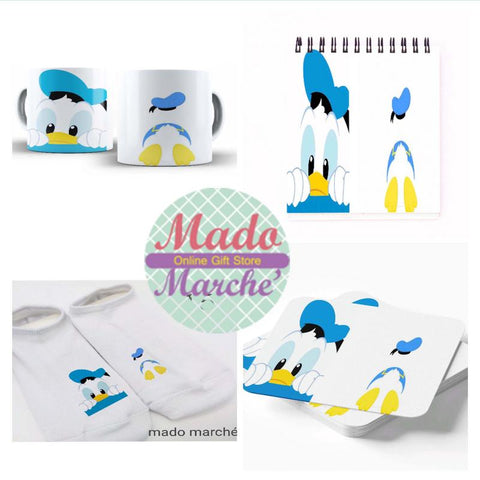 Happines set ( socks +mug+coaster+notebook )