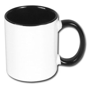 Coloured Mug Internal and hand black