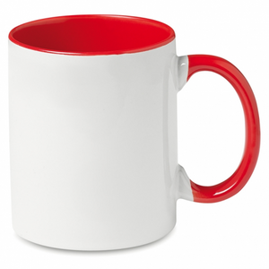 Coloured Mug Internal and hand Red