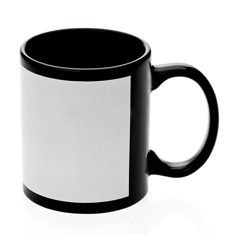 Coloured Mug Black and white