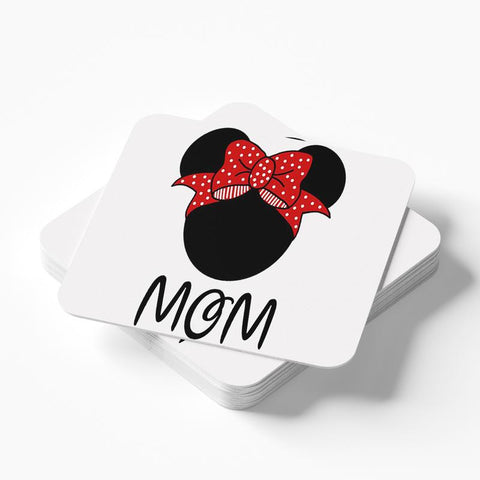 Minnie Mom Coaster