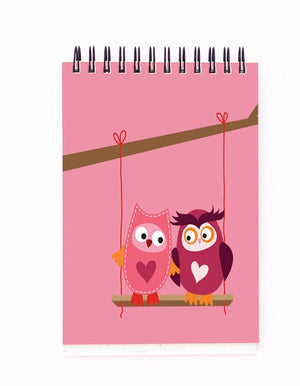 Owls Love Block Note