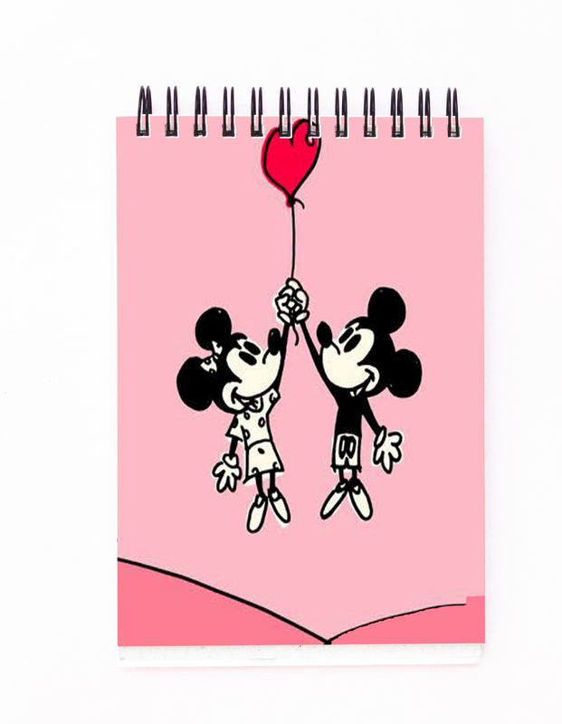 Mikey & Minnie Block Note