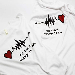 Couples T-Shirts, Anniversary Wedding