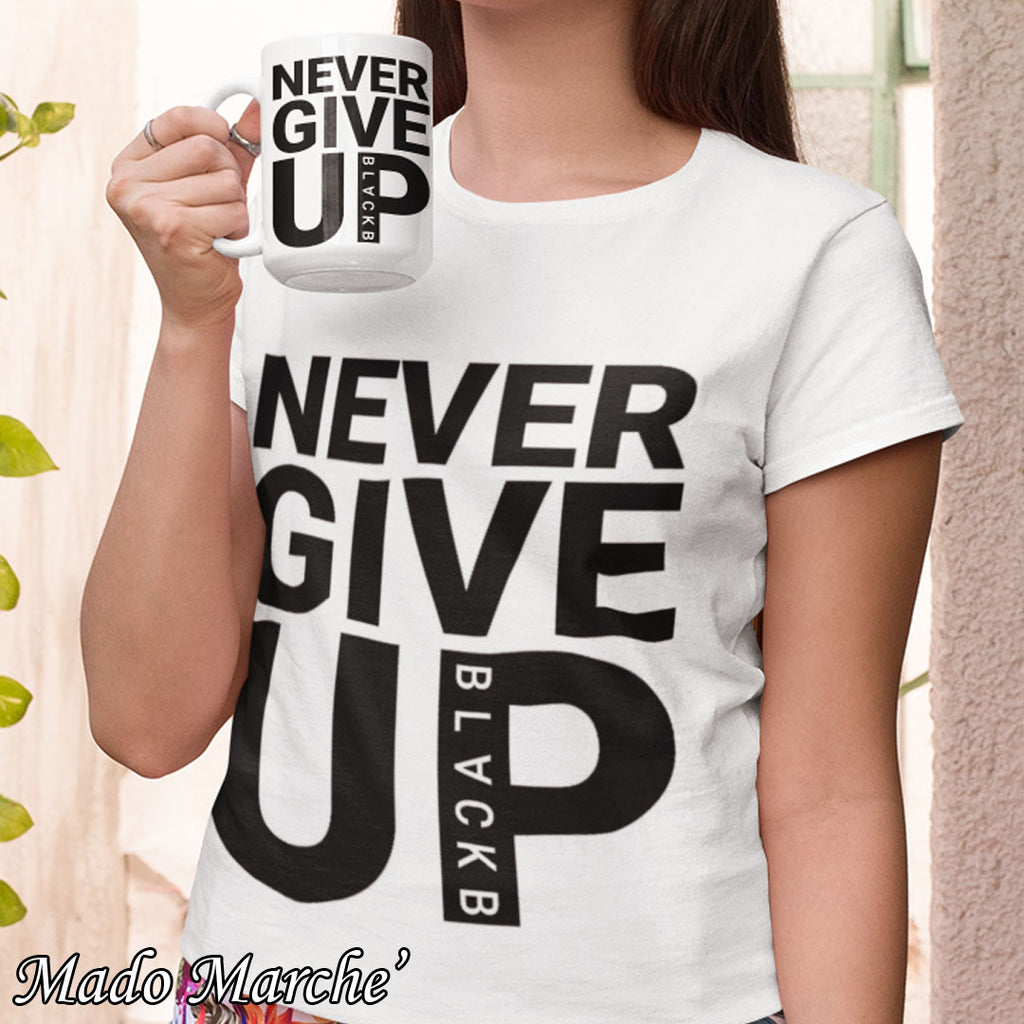 Never Give Up Salah T-Shirt + Mug
