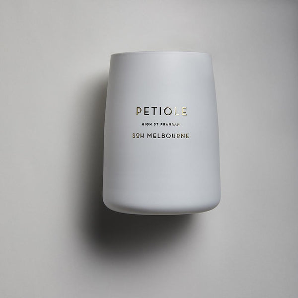 White SOH Candles - Petiole