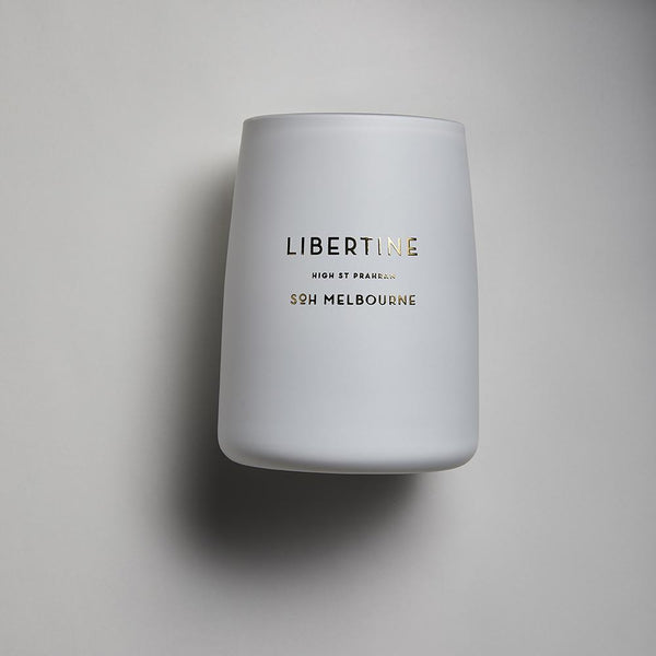 White SOH Candles - Libertine