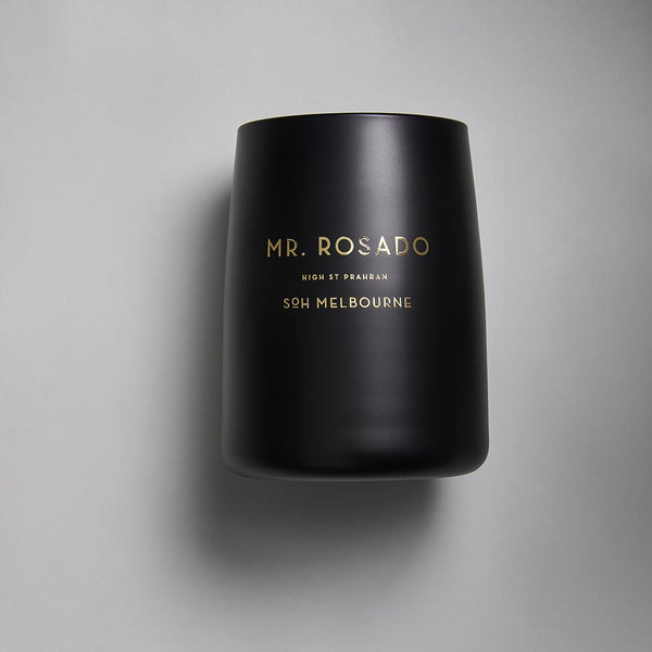 Black SOH Candles - Mr Rosado