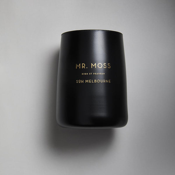 Black SOH Candles - Mr Moss