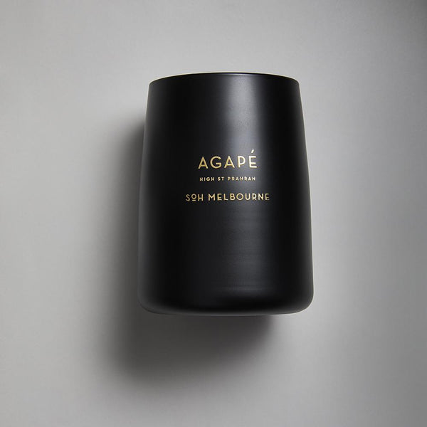 Black SOH Candles - Agape