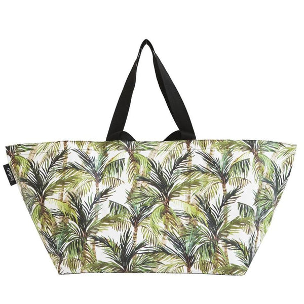 Beach Bag - Green Palm