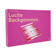 Lucite Backgammon