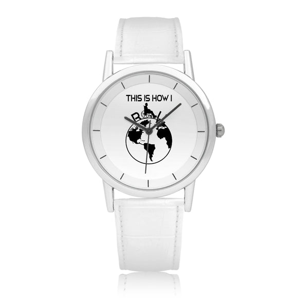 Pure White Water Resistance Quartz Watch