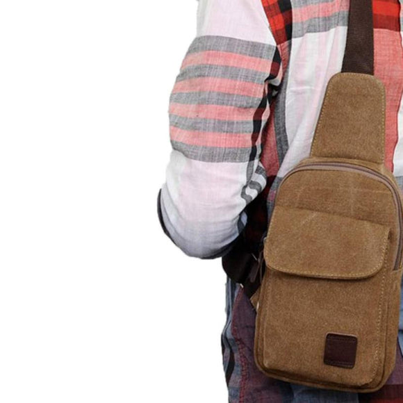 Men Backpack waist bag with strap Multi-function