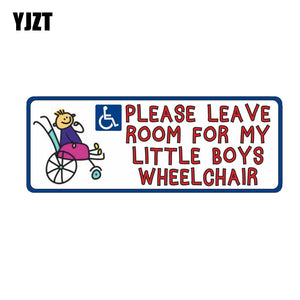 Disability Mobility Wheelchair  PVC Car Sticker 11-00092