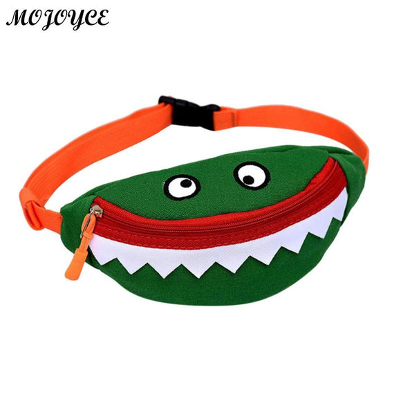 Children Cartoon Canvas Waist Packs