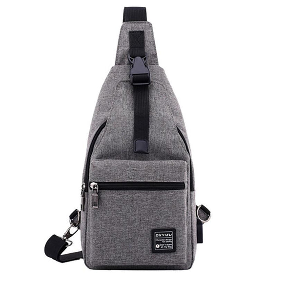 Molave Waist USB External Charging  Traveling  Bag