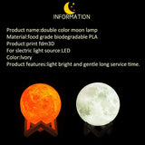 LED Touch Moon Light